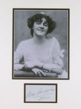 Marie Studholme Autograph Signed Display
